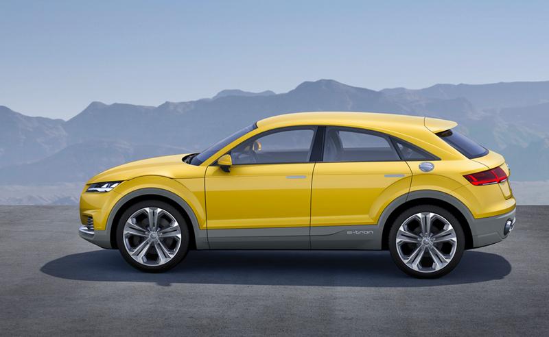 Foto Lateral Audi Tt Offroad Concept Suv Todocamino 2014