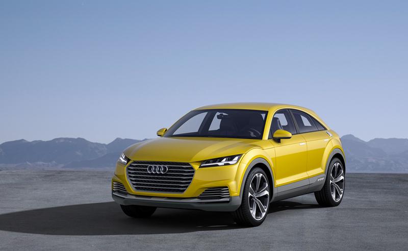 Foto Perfil Audi Tt Offroad Concept Suv Todocamino 2014