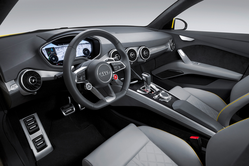 Foto Salpicadero Audi Tt Offroad Concept Suv Todocamino 2014