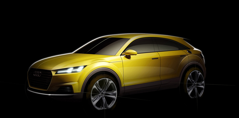 Foto Tecnicas Audi Tt Offroad Concept Suv Todocamino 2014