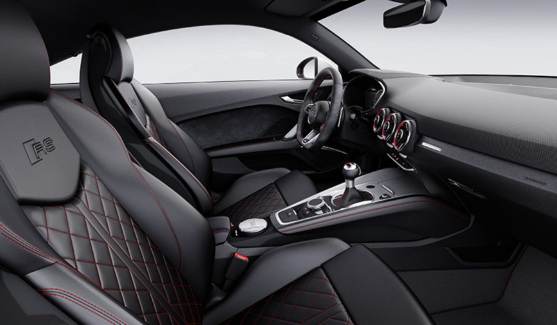 Foto Interiores Audi Tt Rs Cupe 2016