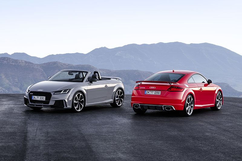 Foto Exteriores Audi Tt Rs Roadster Descapotable 2016