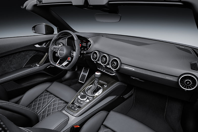 Foto Interiores Audi Tt Rs Roadster Descapotable 2016