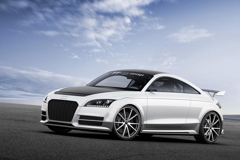 Foto Perfil Audi Tt Ultra Concept Cupe 2013