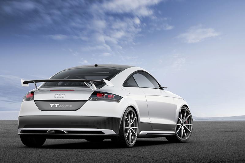 Foto Trasera Audi Tt Ultra Concept Cupe 2013