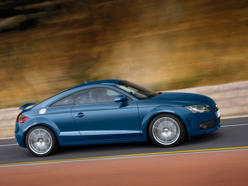 Foto Lateral Audi Tts Cupe 2009