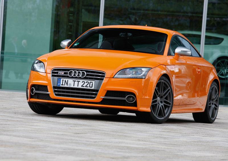 Foto Delantera Audi Tts Cupe 2012