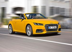 Foto Perfil Audi Tts Descapotable 2015