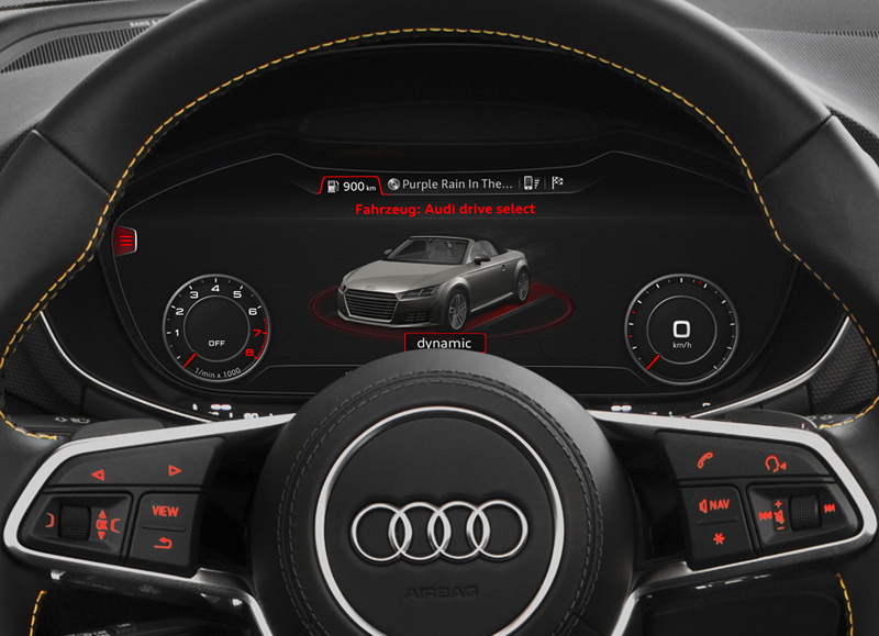 Foto Interiores (1) Audi Tts Descapotable 2015