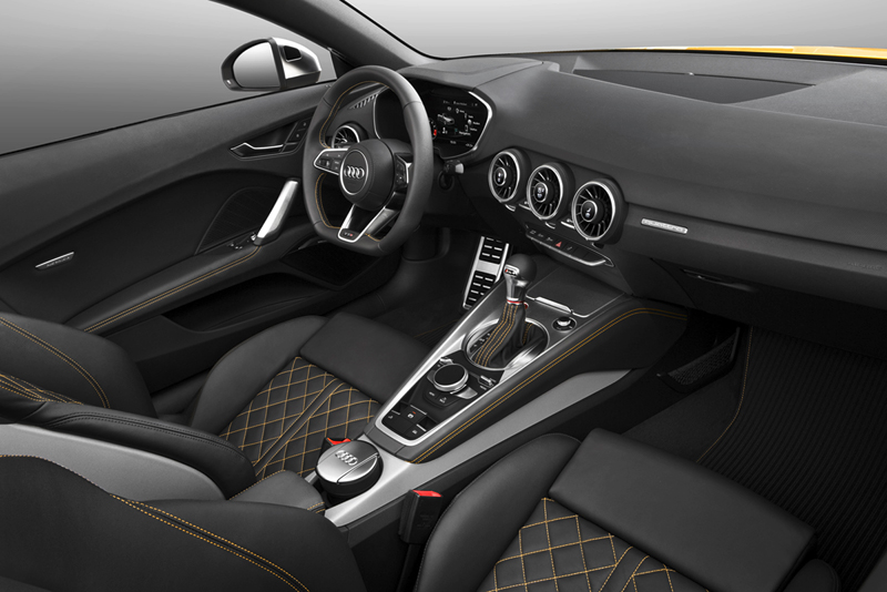 Foto Interiores (2) Audi Tts Descapotable 2015
