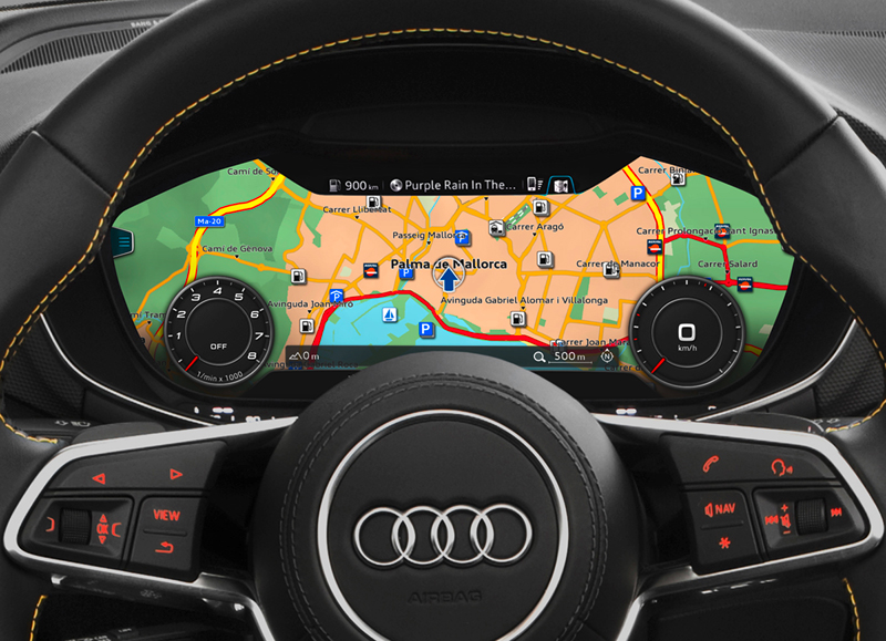 Foto Interiores (3) Audi Tts Descapotable 2015