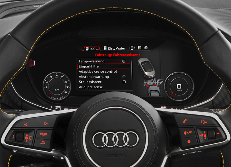 Foto Interiores (4) Audi Tts Descapotable 2015