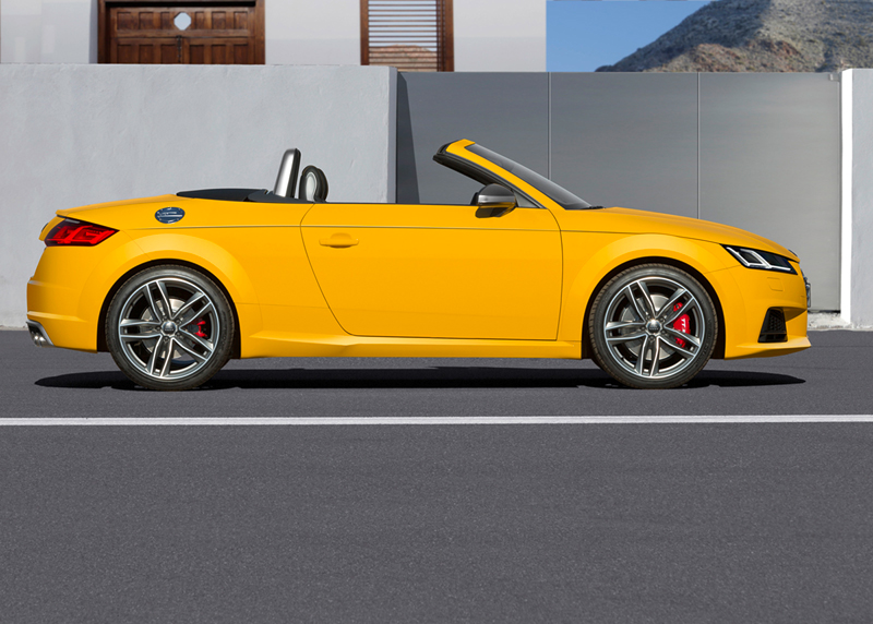 Foto Lateral Audi Tts Descapotable 2015