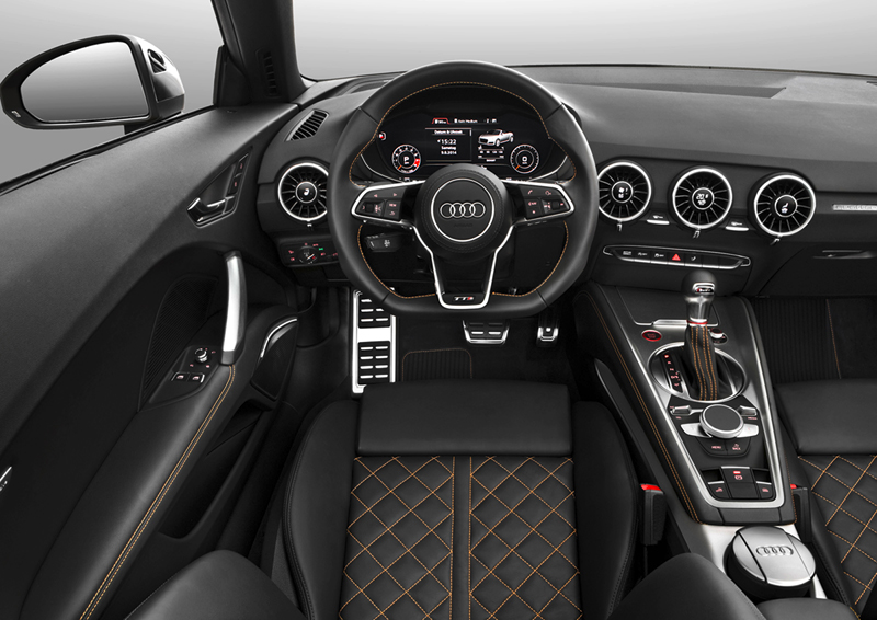 Foto Salpicadero Audi Tts Descapotable 2015