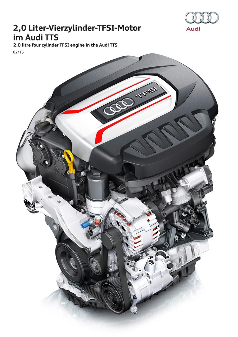 Foto Tecnicas Audi Tts Descapotable 2015