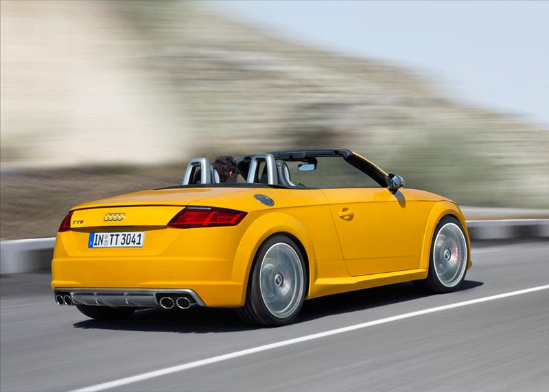 Foto Trasera Audi Tts Descapotable 2015