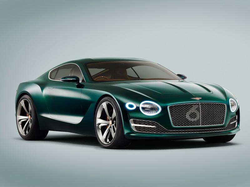 Foto Delantera Bentley Exp 10 Speed Concept 2015