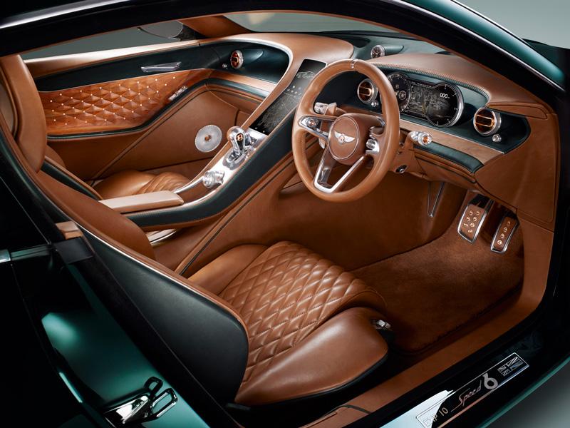 Foto Interiores Bentley Exp 10 Speed Concept 2015