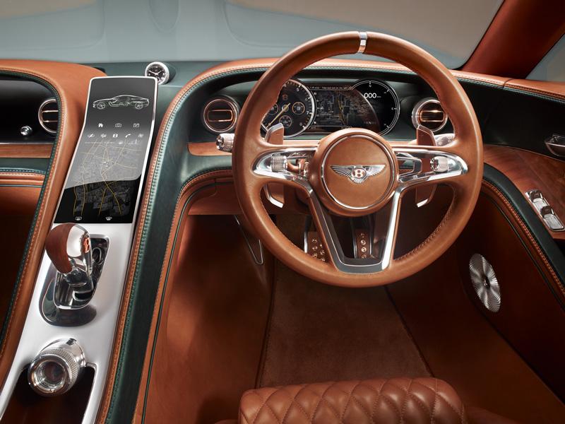 Foto Salpicadero Bentley Exp 10 Speed Concept 2015