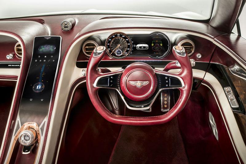 Foto Interiores Bentley Exp 12speed 6e Concept 2017