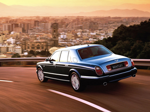 Foto Trasero Bentley Arnage Sedan