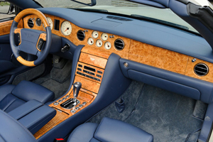 Foto Interiores Bentley Azure Descapotable 2009