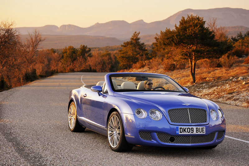 Foto Exteriores Bentley Continental Descapotable 2009