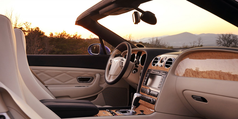 Foto Interiores Bentley Continental Descapotable 2009
