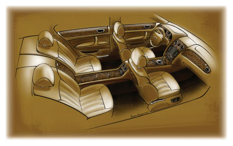 Foto Tecnicas Bentley Continental Sedan 2009