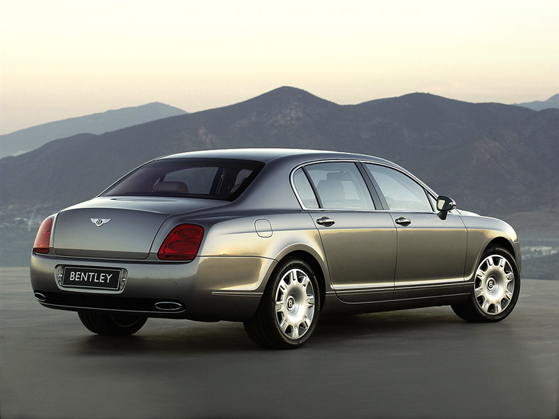 Foto Trasero Bentley Continental Sedan