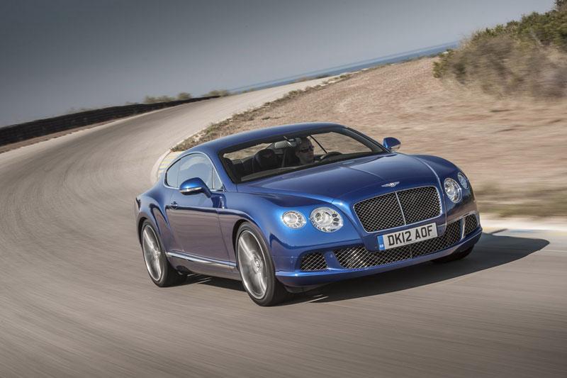 Foto Delantera Bentley Continental Gt Cupe 2012