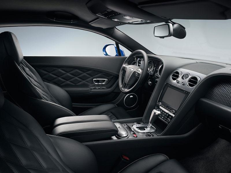 Bentley continental GT salpicadero