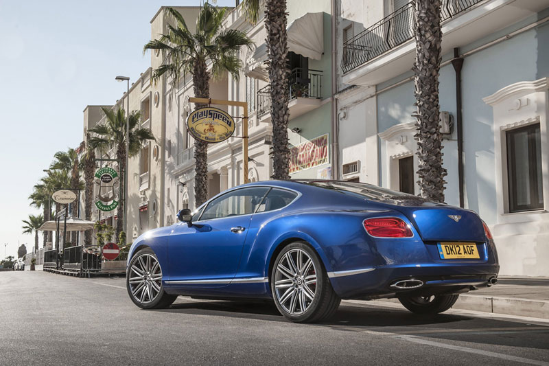 Foto Trasera Bentley Continental Gt Cupe 2012
