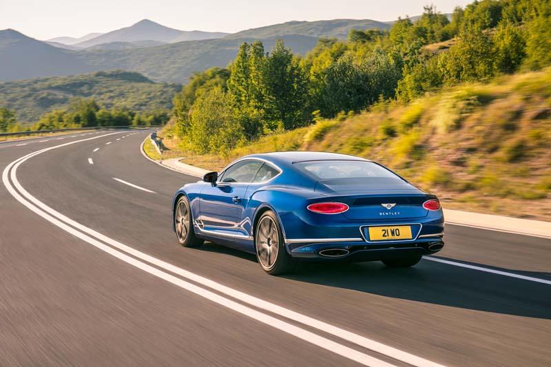 Foto Exteriores Bentley Continental Gt Cupe 2017