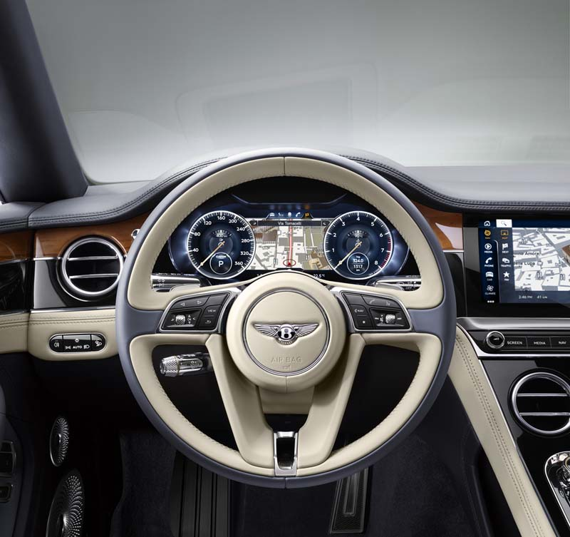 Foto Interiores Bentley Continental Gt Cupe 2017