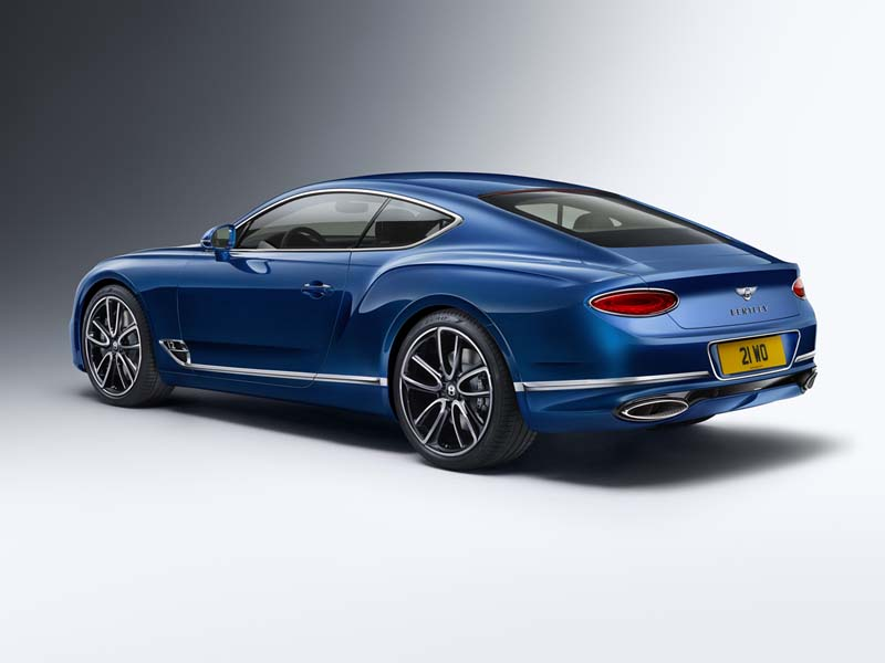 Foto Trasera Bentley Continental Gt Cupe 2017