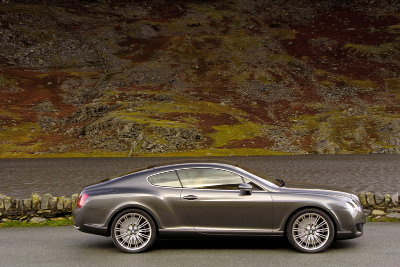 Foto Perfil Bentley Continental Gt Cupe