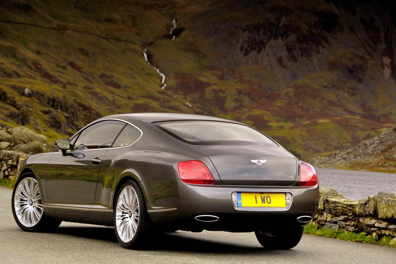Foto Trasero Bentley Continental Gt Cupe