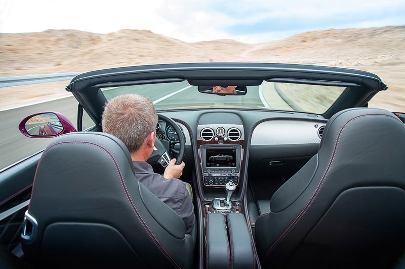 Foto Interiores Bentley Continental Gt Speed Descapotable 2012
