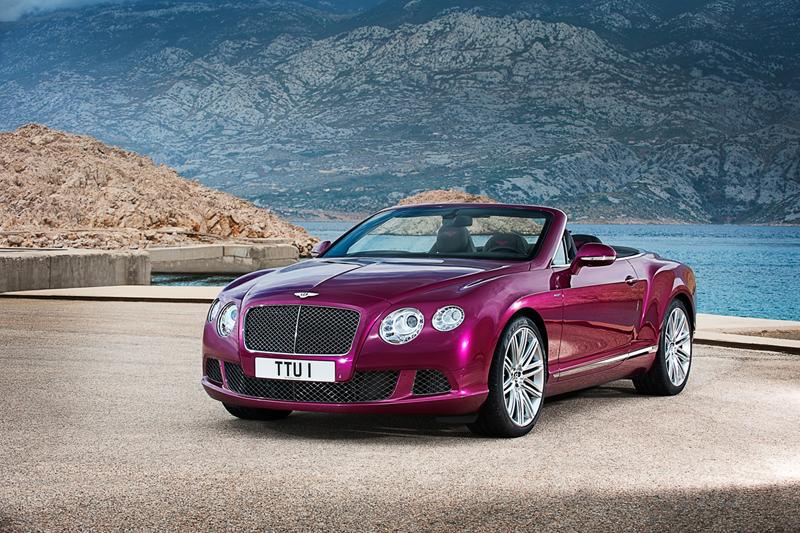 Foto Perfil Bentley Continental Gt Speed Descapotable 2012