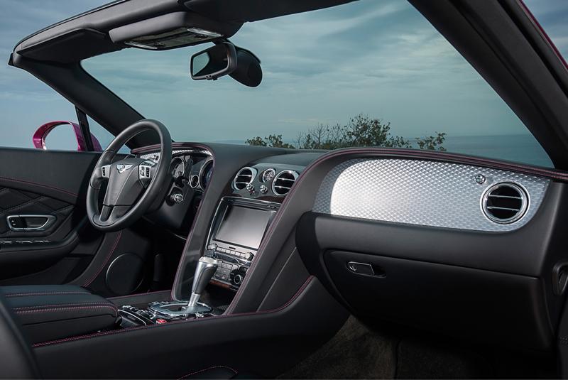 Foto Salpicadero Bentley Continental Gt Speed Descapotable 2012