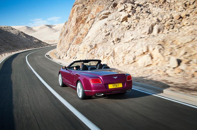 Foto Trasera Bentley Continental Gt Speed Descapotable 2012