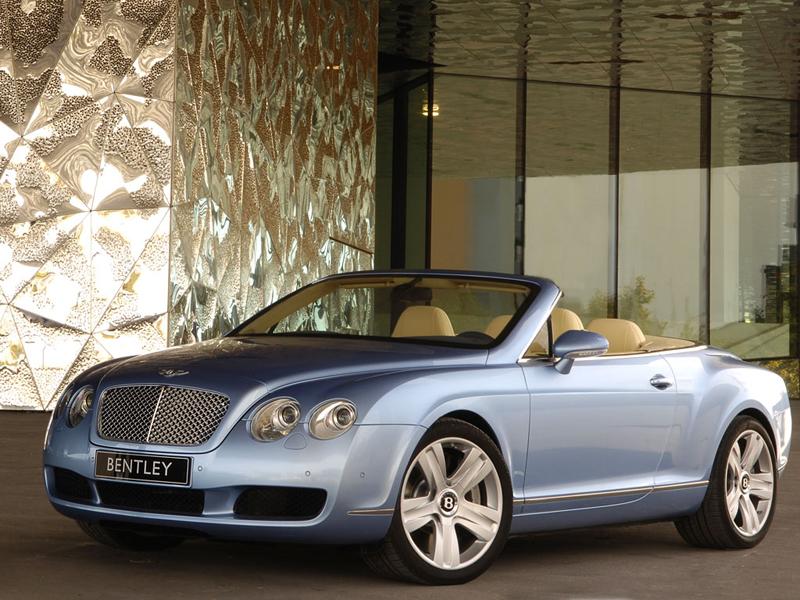 Foto Delantero Bentley Continental Gtc Descapotable