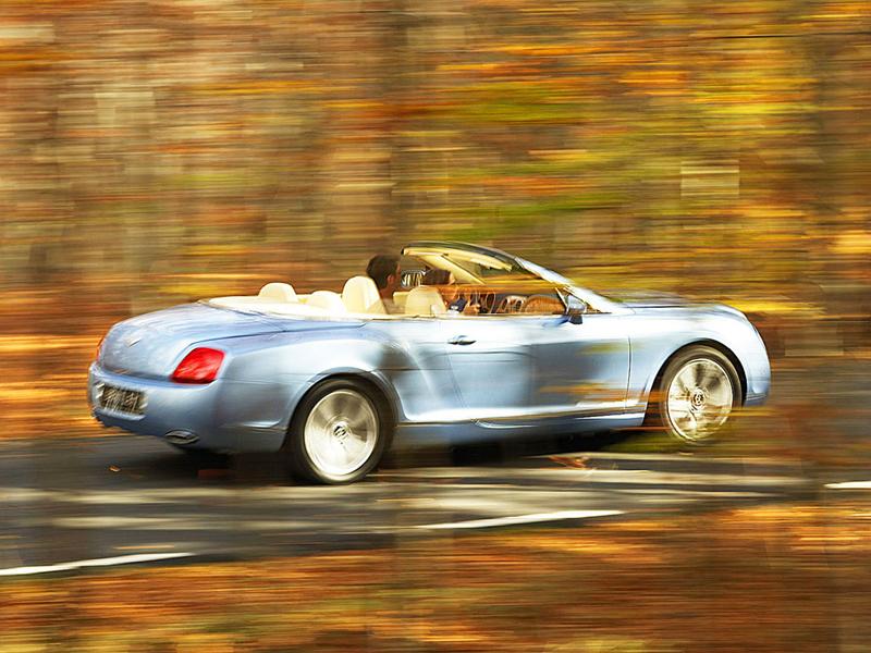 Foto Trasero Bentley Continental Gtc Descapotable
