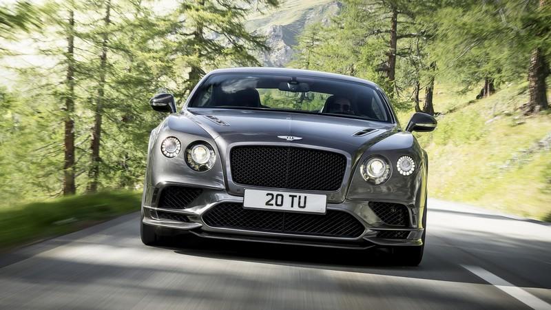 Foto Delantera Bentley Continental Supersports Cupe 2017