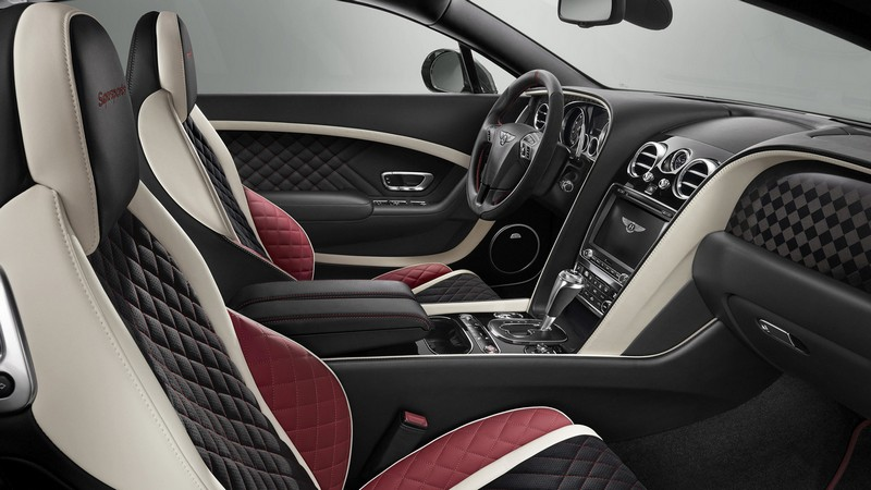 Foto Interiores Bentley Continental Supersports Cupe 2017