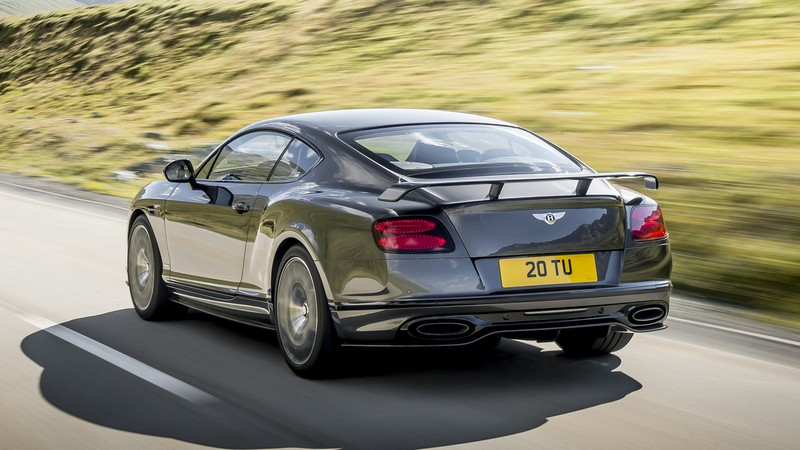 Foto Trasera Bentley Continental Supersports Cupe 2017