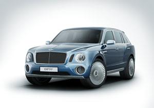 Bentley en el Salón de Ginebra 2012