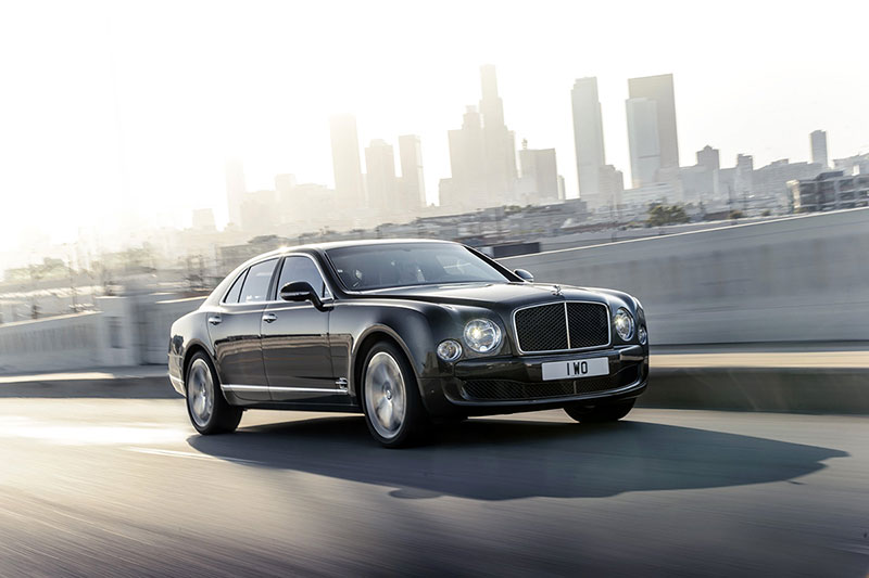 Foto Delantera Bentley Mulsanne Speed Sedan 2014