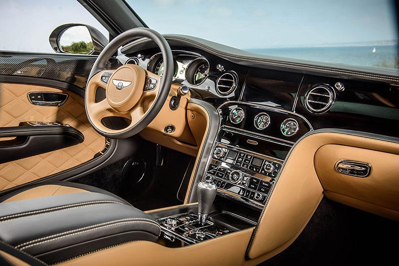Foto Interiores Bentley Mulsanne Speed Sedan 2014